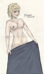 Mitsuki Bakugou NSFW color by vick330