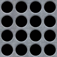 Seamless Metal Holes Texture by hhh316