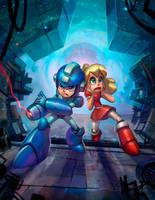 Mega Man by matthewart