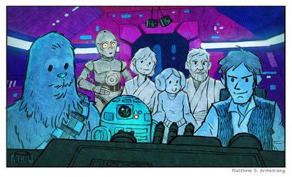 Star Wars Matthew Armstrong by matthewart