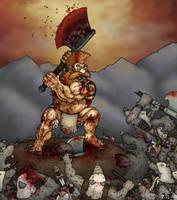 Skaven Battle- Final by GH-MoNGo
