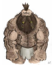 Kolgar, Pit Fighter by GH-MoNGo