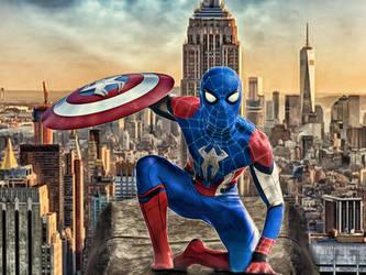 Captain Spiderman by DesmondKing