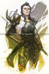 Lady Loki by MischievousMartian