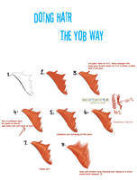 hair tutorial by YOB
