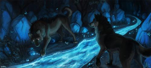 Mysterious Cave by Aurru