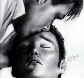 Jack and Ianto by deedeedee123