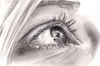 is it? drawing by deedeedee123