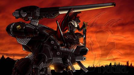 Wasteland Sunset by ReptileCynrik