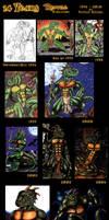 Reptile Cynrik - Evolution by ReptileCynrik
