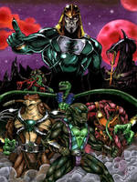 Rise of the Snake Men by ReptileCynrik