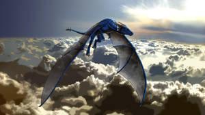 ART TRADE: 157DECdragon by ReptileCynrik