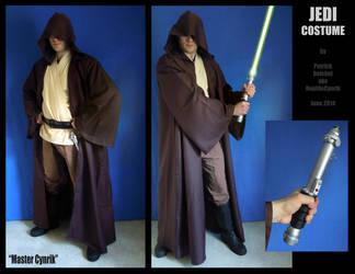 Jedi Knight Costume by ReptileCynrik
