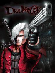 Devil May Cry FANART by ReptileCynrik