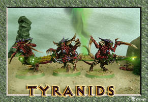 Warhammer 40k: Tyranid Warrior by ReptileCynrik