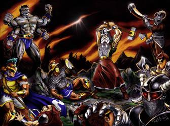 Age of Myth: CLASH OF TITANS by ReptileCynrik