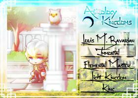 [ Astrology Kingdom ] Louis M. Bavarian by GreenieX