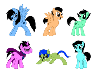 HS-MLP Crossover: Batch 1 by Warcry31
