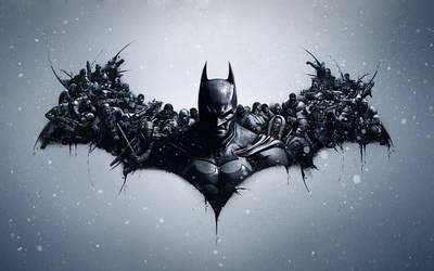 Batman: Arkham Origins Lithography - Mod by Jamush