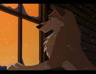 If only I looked more like a dog than a wolf by Ouivon