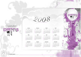 Dirty's Calender 2008 by ahmedmagdi