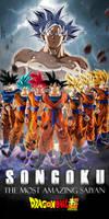 Goku The Most Amazing Saiyan (WP 18:9) by AdeBa3388