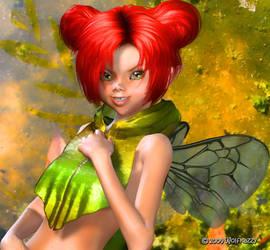 Summer Fae Bug by Wolfkazzy