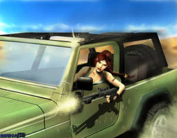 KV5 chasing... by esswordTR