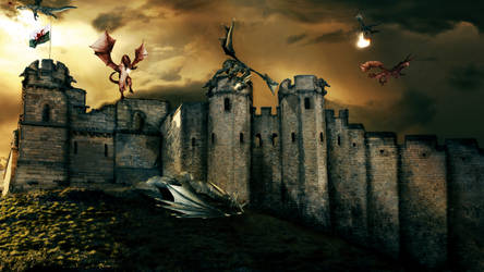 Monster Castle by TadeuGarcia