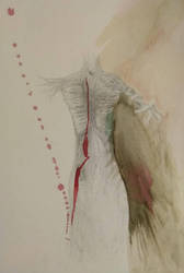 Body, Watercolor by WhiteNoiseBlackVoid