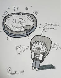 Undertale - BUTTERSCOTCH CINNAMON PIE!?!? by TheDaucta