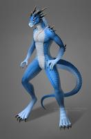 [Commission] Dragon by VictoriaDAEDRA