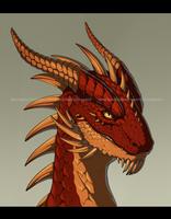 [COMM] Dragon by VictoriaDAEDRA
