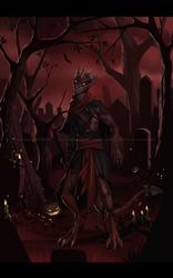 [COMM] Zombie Onyx by VictoriaDAEDRA