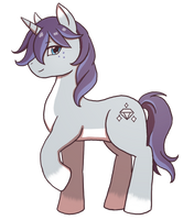 MLP OC Profile: Diamond Charm by SilverHyena