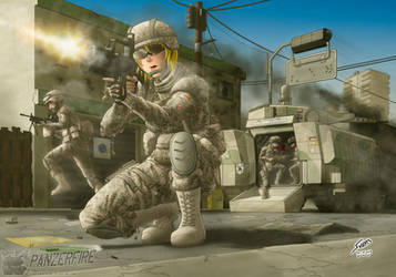 Dismounting by Panzerfire
