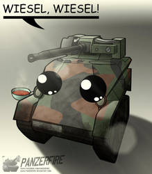 Chibi Wiesel by Panzerfire