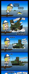 The attack of Panzu-chan by Panzerfire