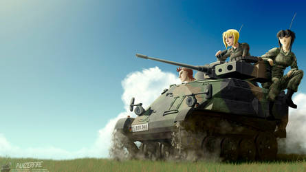 Taking the Wiesel for a ride by Panzerfire