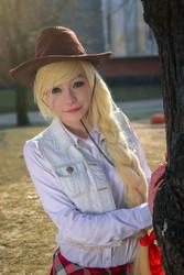 Hi! What's up? - Applejack cosplay by annemcosplay