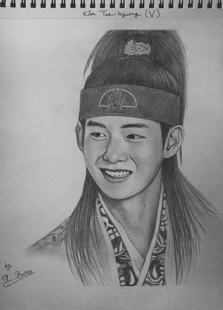 Kim Tae Hyung  by Gwjwnshri