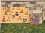 The Pugomancer And Her plot by CartoonLovingFeline