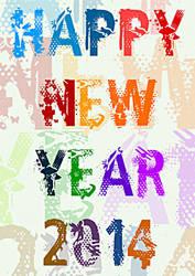Happy New Year 2014 _2 by rajasegar