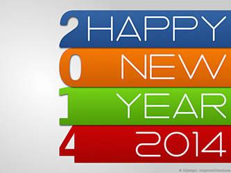Happy New Year 2014 _4 by rajasegar