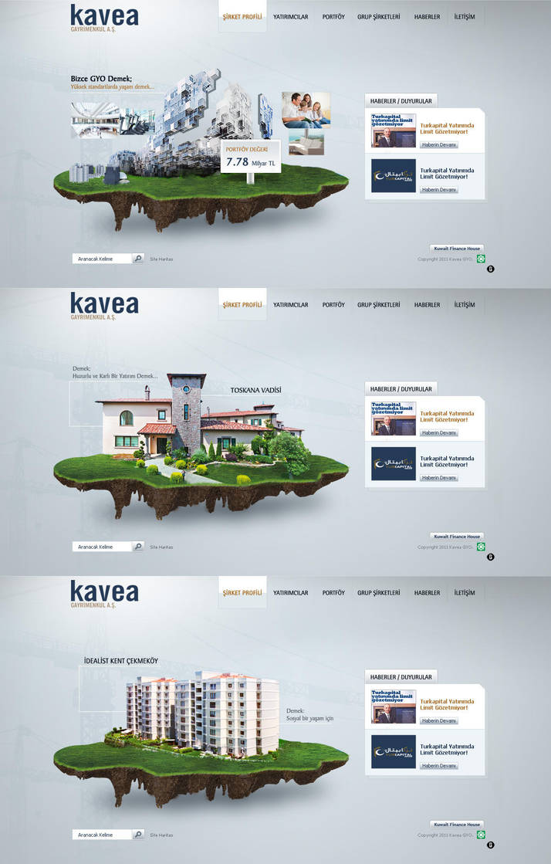Kavea GYO web design by accelerator