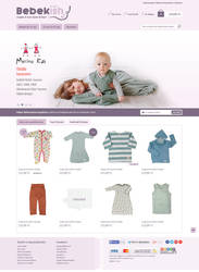 Baby store web design by accelerator