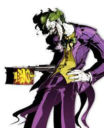 The Joker By Nekoshowgun by Proxy23