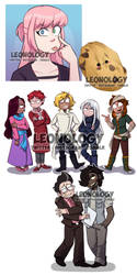 Commissions Compilation 03 by Leeonology