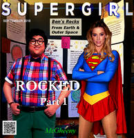 Supergirl in ROCKED Part 1 COVER by McGheeny