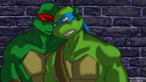 Leo and Raph by TurboTails06
